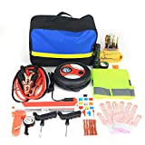 HITSAN Roadside Emergency Kit Portable Auto Set Car Tool Bag Piece Vehicle Safety One Piece