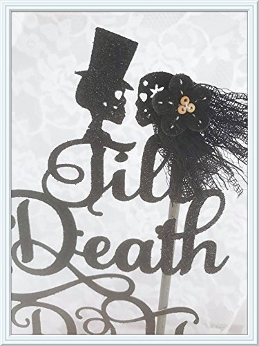 Till Death Do Us Part Skull Cake (Us Halloween Celebration)