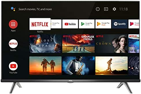 TCL 32S615 televisore 109,2 cm (32″) HD Ready Android TV Wi-Fi Nero [Classe di efficienza energetica A+]