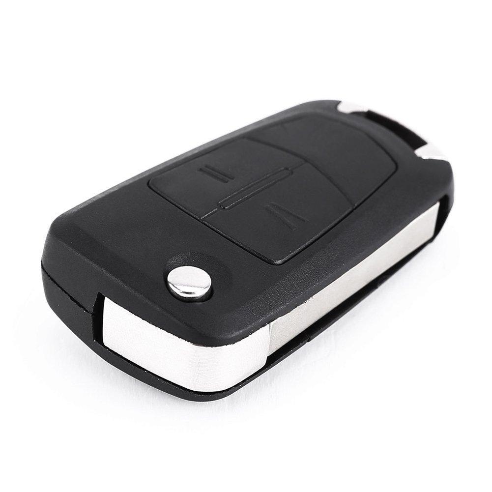 2 Button Remote Flip Key Fob Case for Vauxhall Opel Corsa Astra Vectra Zafira Super Junior