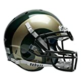 NCAA Colorado State Rams Authentic XP Football Helmet