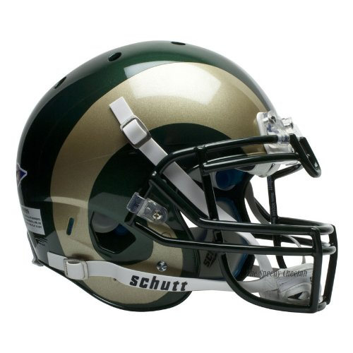 NCAA Colorado State Rams Authentic XP Football Helmet by Schutt