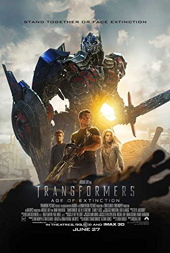 Transformers: Age of Extinction Movie Poster 27 x 40 Style C 2014 Unframed ()