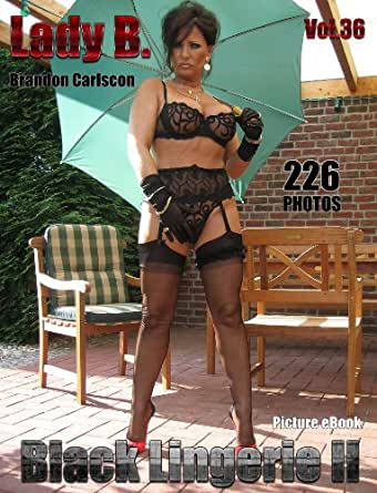 Lady B. Vol.36 Black Lingerie #2: Barbara, the Leg & Feet Fetish Queen