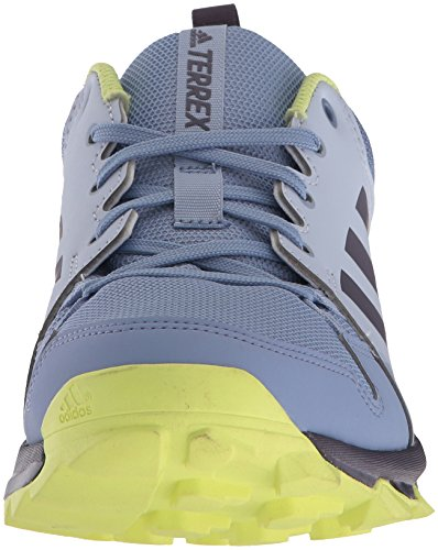 Adidas Outdoor Dames Terrex Tracerocker W Trail Hardloopschoenen Aero Blauw / Trace Purple / Semi Frozen Yellow