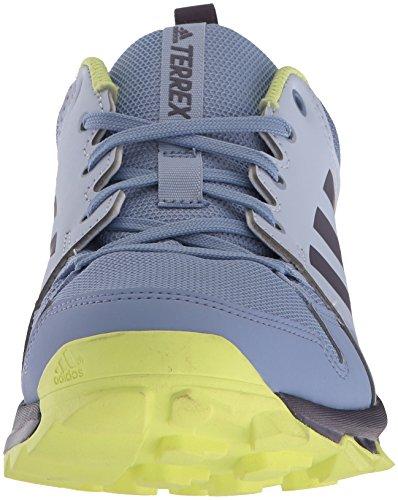 adidas outdoor Women's Terrex Tracerocker W Trail Running Shoe, Aero Blue/Trace Purple/Semi Frozen Yellow, 8 M US by adidas outdoor (Image #4)