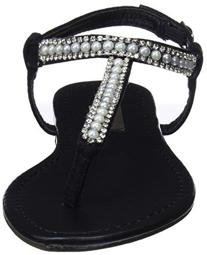 Femme Noir Xti Bride Cheville Black Sandales 30738 pvqz4