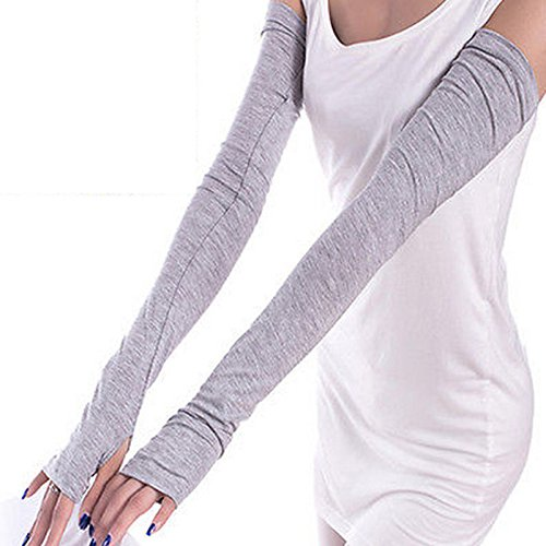 new-fashion-women-lady-sport-driving-extra-long-cuff-fingerless-gloves-sunscreen