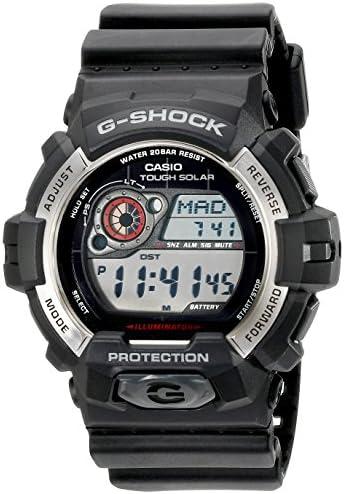 Casio Men s GR-8900-1CR Tough Solar G-Shock Digital Display Quartz Black Watch