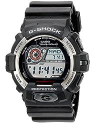 Casio Mens GR-8900-1CR Tough Solar G-Shock Digital Display Quartz Black Watch