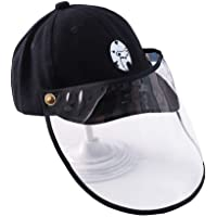 Zegoo Kids Sun Hat Soft Cap Boys Girls with Removable Dustproof Cover Protective Hat 6-24 Months
