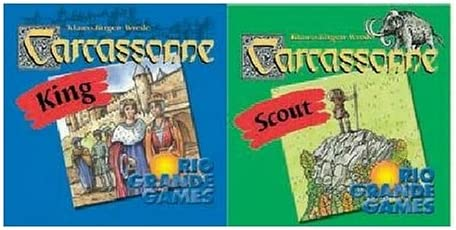 Carcassonne: King and Scout: Amazon.es: Juguetes y juegos