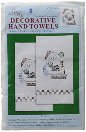 - Jack Dempsey Stamped Decorative Hand Towel Pair 17