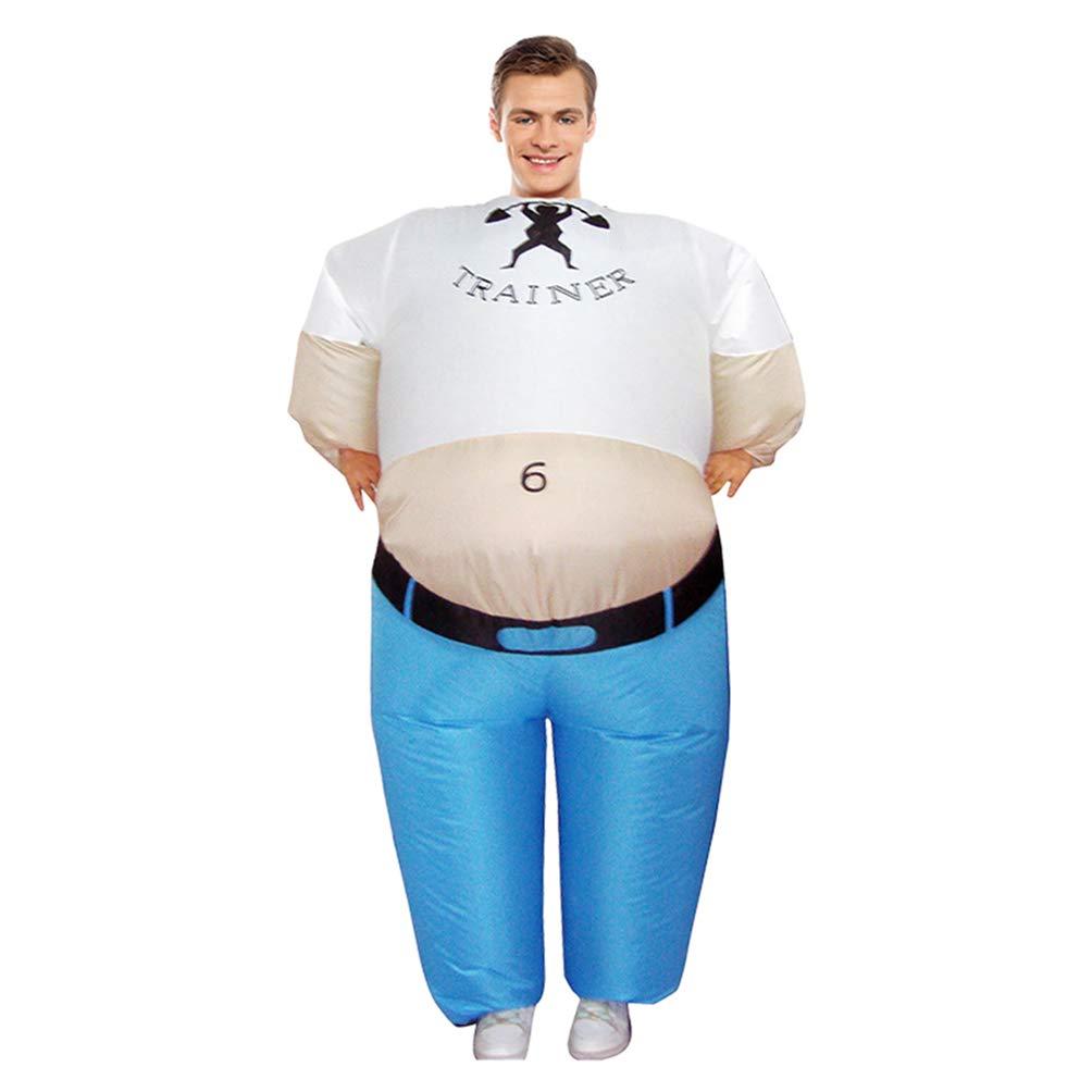 Amazon.com: Disfraz hinchable gigante de entrenador personal ...