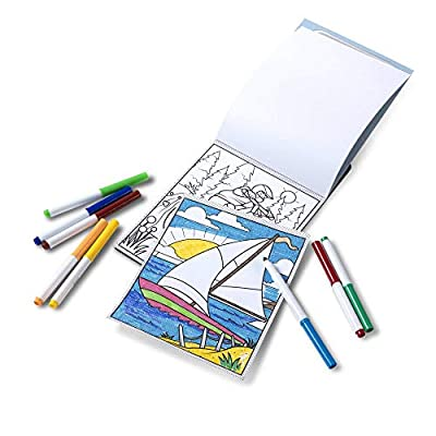 Melissa & Doug Magic-Pattern Kids Adventure Marker Coloring Pad On The Go Travel Activity (Great Gift for Girls and Boys - Best for 4, 5, 6, 7, 8 Year Olds and Up): Toys & Games