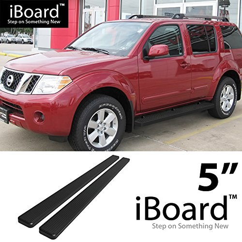 "Off Roader Eboard Running Board 5"" Black Fits 2005-2012 Nissan Pathfinder Sport Utility 4-Door (Nerf Bar 