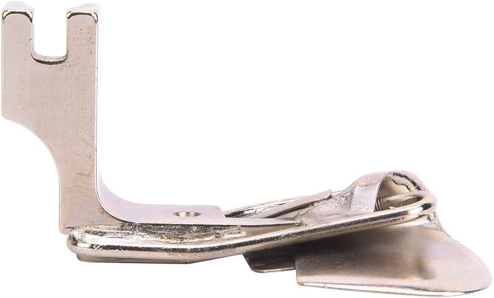 MAGT Prensatelas, prensatelas Accesorios de pie de Dobladillo de 3 Pliegues de Acero para máquina de Coser Industrial 490359(1/8)