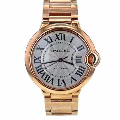 Cartier Ballon Bleu swiss-automatic womens Watch W69004Z2 (Certified Pre-owned)