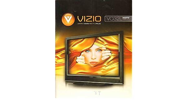 vizio vo32l hdtv10a user manual vizio amazon com books rh amazon com Remote Vizio VO32L Vizio Flat Screen TV