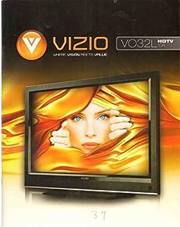 vizio vo32l hdtv10a user manual vizio amazon com books rh amazon com Vizio Logo Remote Vizio VO32L