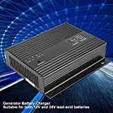 Maxmartt Generator Battery Charger, 12V/24V 10A