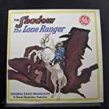 No Artist - The Shadow The Lone Ranger Original Radio Broadcasts - Lp Vinyl Record
