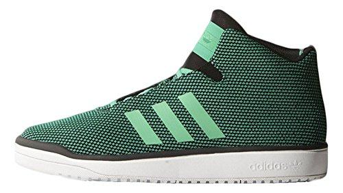 Scarpe Da Uomo Adidas Veritas Mid Basket Taglia Verde Brillante / Verde Brillante / Bianco