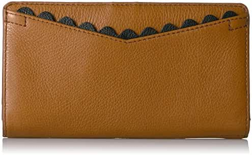 Fossil Caroline Rfid Slim Bifold Wallet Saddle Wallet