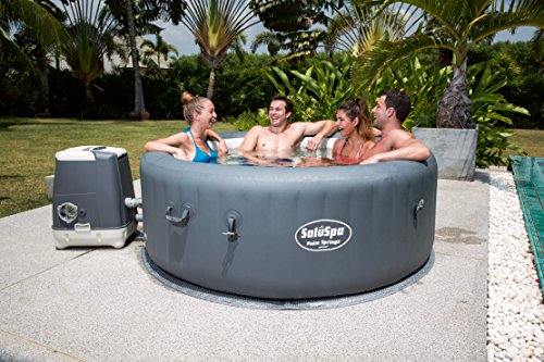 (SaluSpa Palm Springs HydroJet Inflatable Hot Tub)
