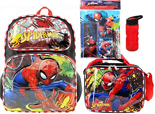 Lunch Box Stationery - Spider-Man Deluxe 3D 16