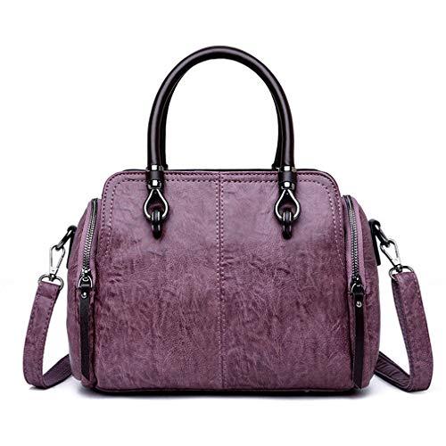 27cm Blue Per A 11cm Tracolla Purple Donna Borsa 20cm wqIxRaXEI