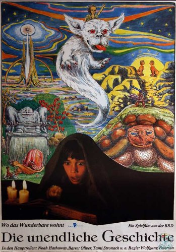 The Neverending Story Poster Movie German 11x17 Barret Oliver Noah Hathaway Gerald McRaney
