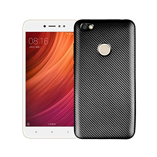 Xiaomi Redmi Note 5A Funda, Redmi Note 5A Prime Funda,Textura cepillada TPU Caso Ultra - Delgada Carcasas de a Prueba de...