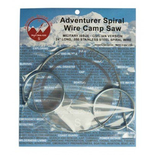 Best Glide ASE Adventurer Spiral Wire Camp Saw ()