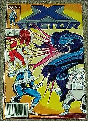 Kirjat ladattavissa ilmaiseksi X Factor No. 40 May 1989 (Volume 1) B000I635IK in Finnish FB2