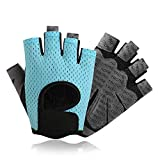 4Clovers Women Yoga Fitness Gloves Weight Lifting Gym Training Bicycle Sports Fingerless Mittens