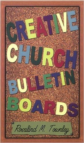 Amazon Com Creative Church Bulletin Boards Ebook Townley Rosalind M Kindle Store