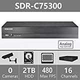 Samsung Full HD Video Security 16 Channel DVR SDR-C75300 (Supports up to 16- ...