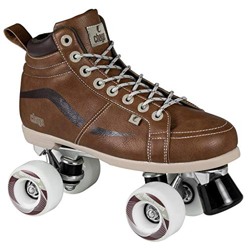 Chaya New Vintage Brown Neat Quad Roller Skates - Vegan (EU 40 / US 9) by Chaya (Image #1)
