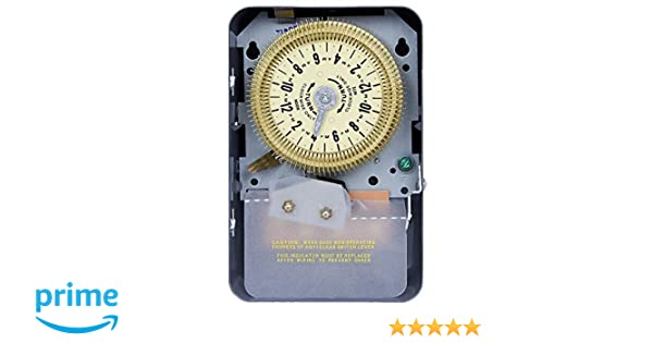 Time Setting Intermatic Electromechanical Timer 20 Amps Max 480VAC Voltage