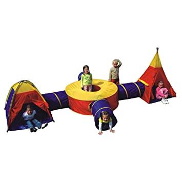 Boys Girls Large Play Tent Tunnel Set Childrens Kids Pop Up Indoor Outdoor by Boppi  sc 1 st  Amazon UK & Boys Girls Large Play Tent Tunnel Set Childrens Kids Pop Up Indoor ...