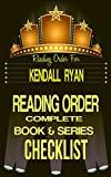 download ebook kendall ryan: series reading order & book checklist: series list includes: unravel me, love by design, when i break, filthy beautiful lust & much more! ... authors reading order & checklists 15) pdf epub