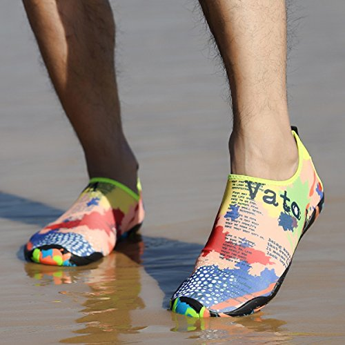 Acqua Verde Sport Yoga 46 Map Donna Swimming Scarpe Uomo Blu On Neoker Barefoot 35 Aqua Skin Nero Rosa Dry Quick Beach Giallo Slip qdxCUxw