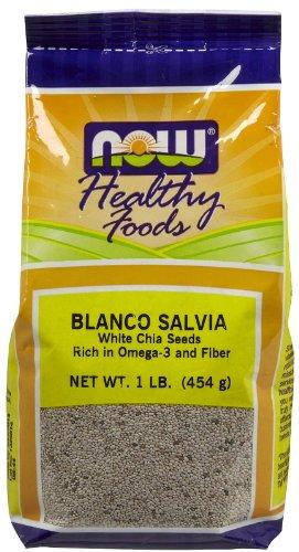 (Now Foods Blanco Salvia White Chia Seeds - 1 lb. ()