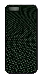 grid sell iphone 5S covers PC Black for Apple iPhone 5/5S