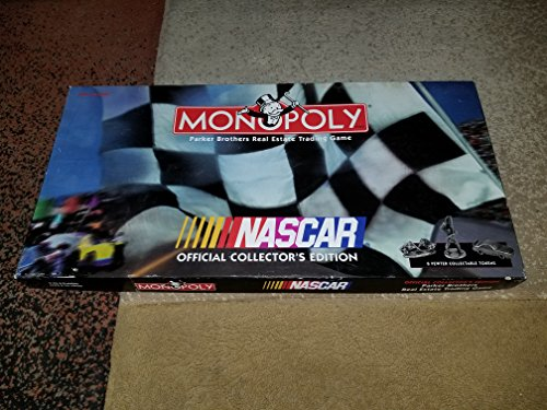 Official Monopoly Game (Monopoly Nascar Official Collector's Edition)