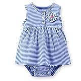 Carter's Baby Girls' Dress Romper (Baby)