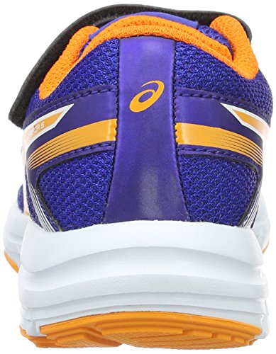 Asics unisex, niños 0-24 Gel-zaraca 5 Ps zapatos Walking Baby Blu (Asics Blue/Autumn/White)