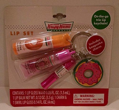krispy-kreme-lip-care-keychain-set-w-doughnut-charm