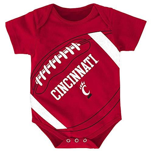 Outerstuff Cincinnati Bearcats NCAA Infant Red Fanatic Football Creeper